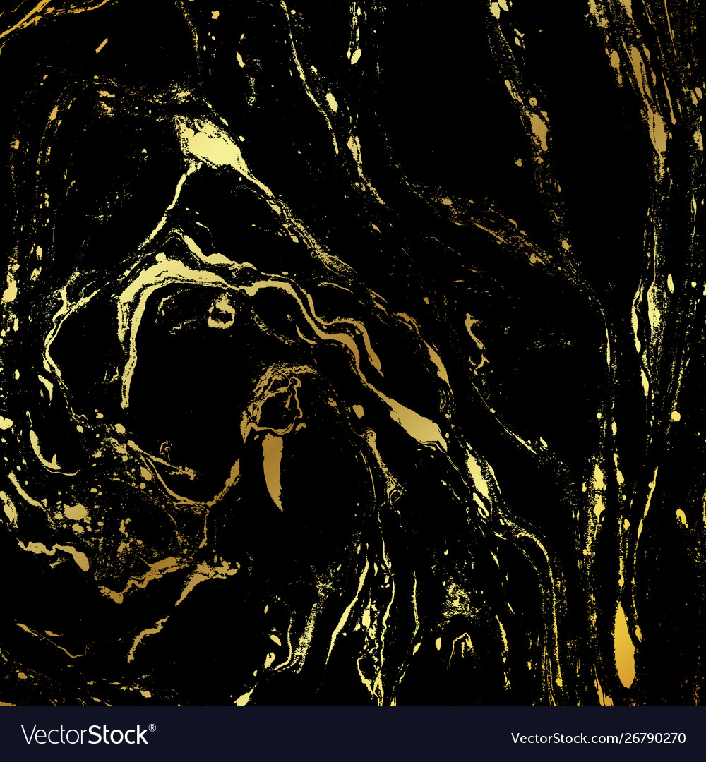 Black Gold Marble Vector Images Over 2 400