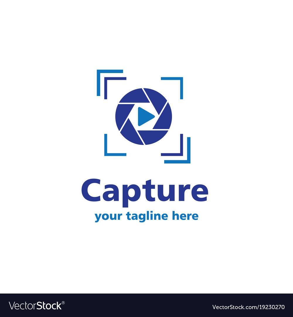 Capture business logo