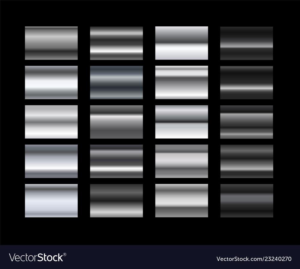 Different metal gradients set