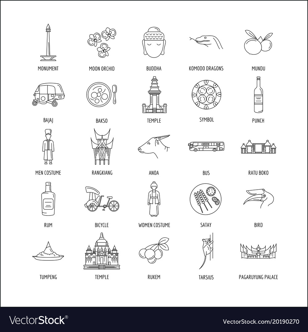 Traditional Jakarta Vector Images 85