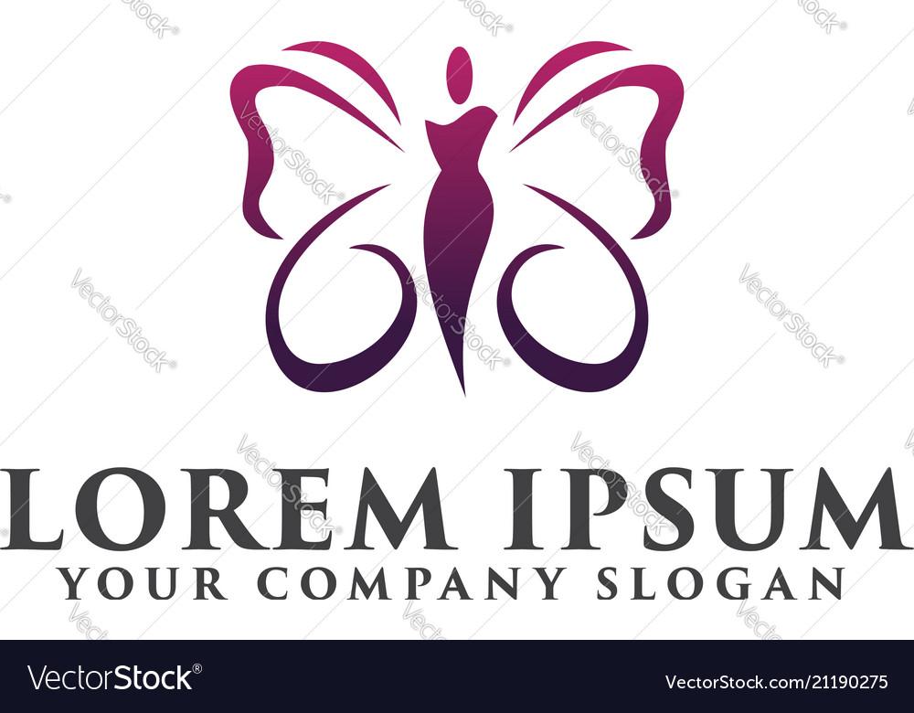 Beauty spa people logos cosmetics logo design
