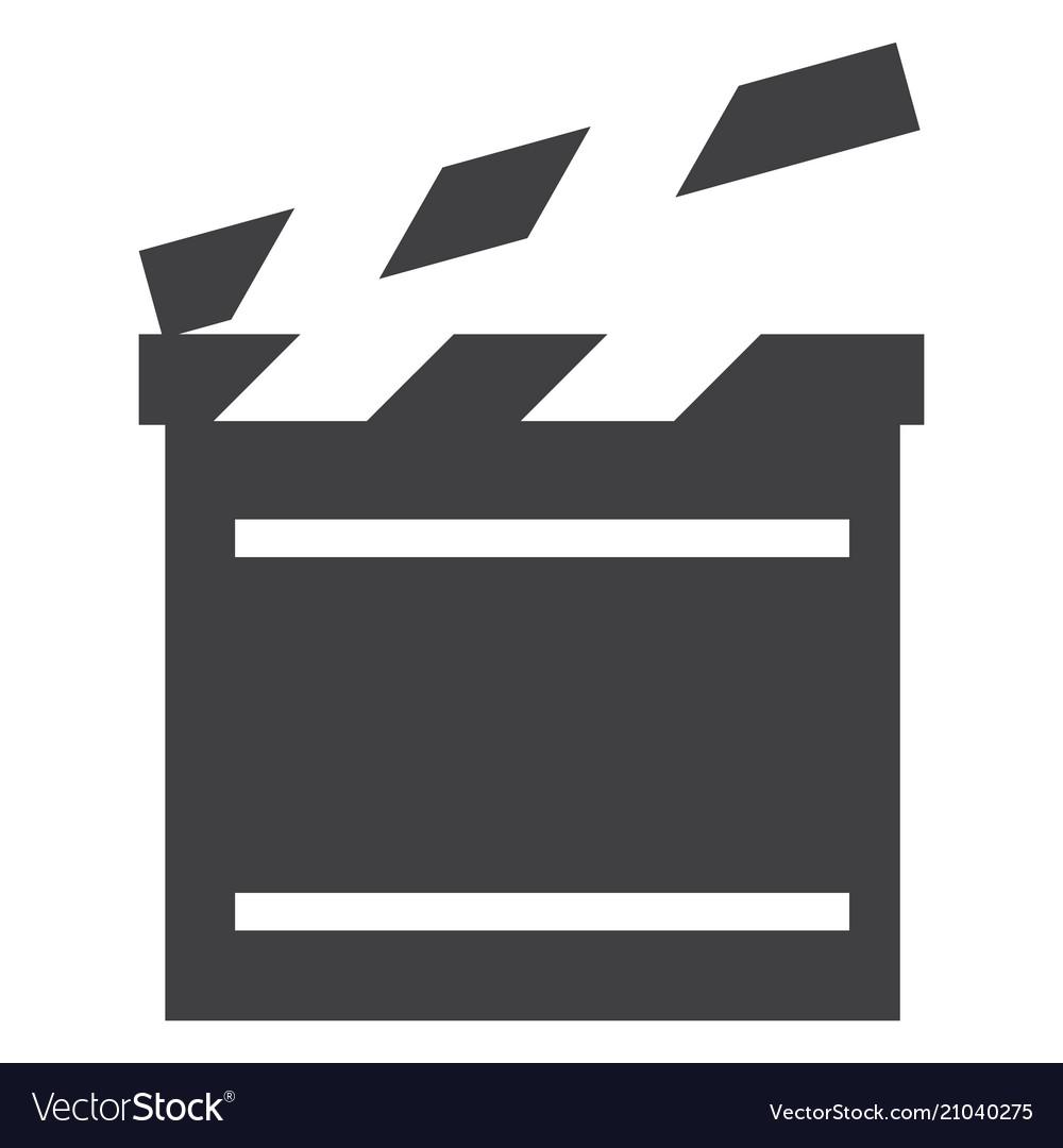 Cinema flap icon