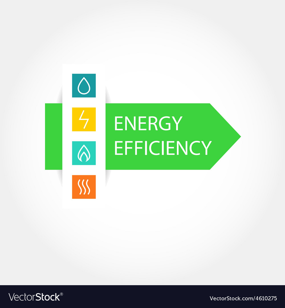Energy efficiency logo royalty free vector image energy efficiency logo vector image ccuart Choice Image
