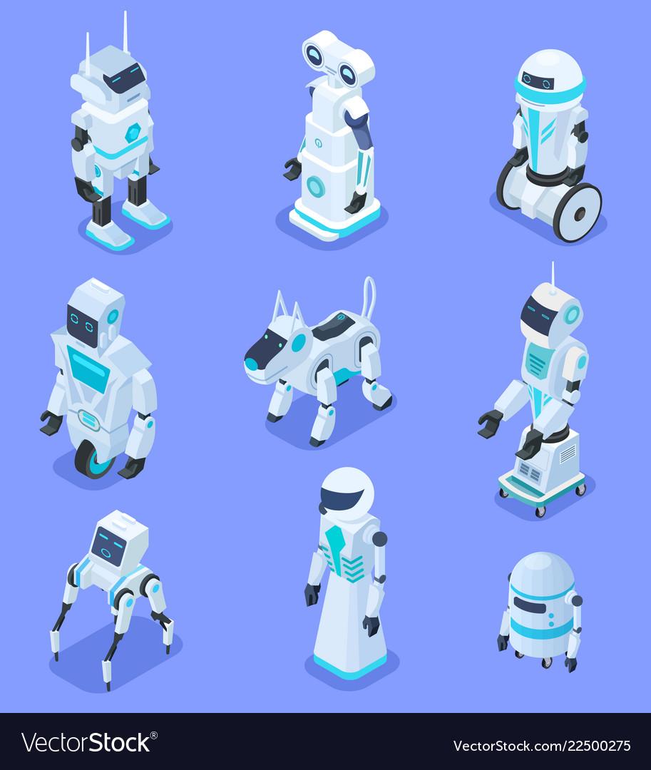 Isometric robots isometric robotic home assistant