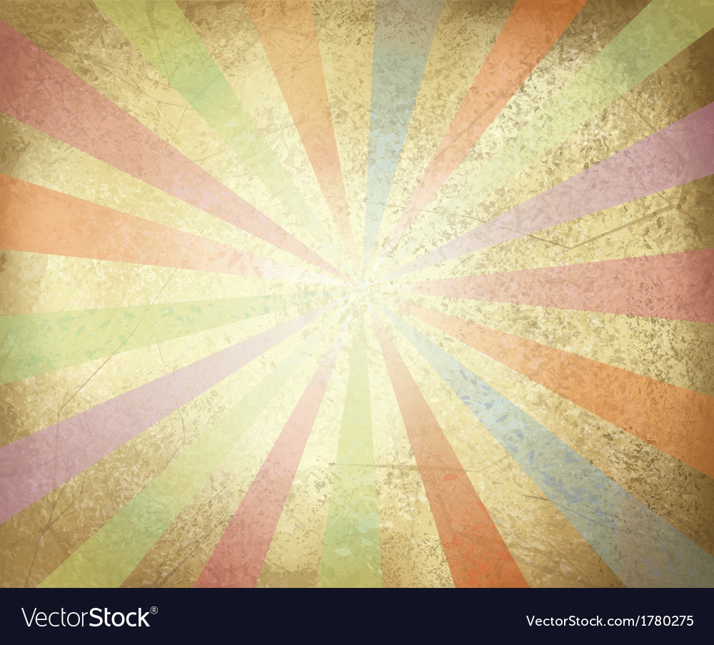 Old paper colorful vector image