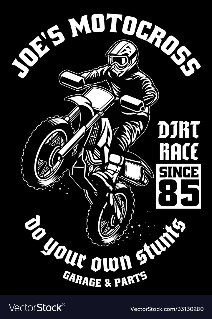 Jersey Motocross Vector Images Over 180