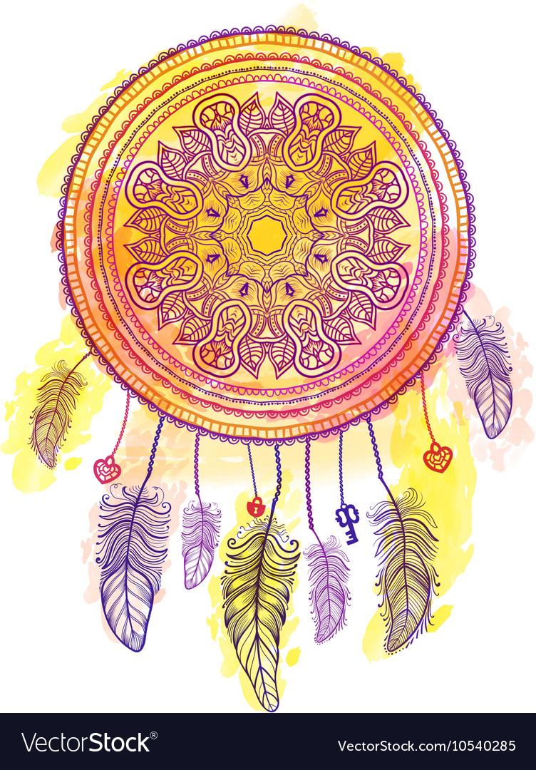 American Indian talisman dreamcatcher