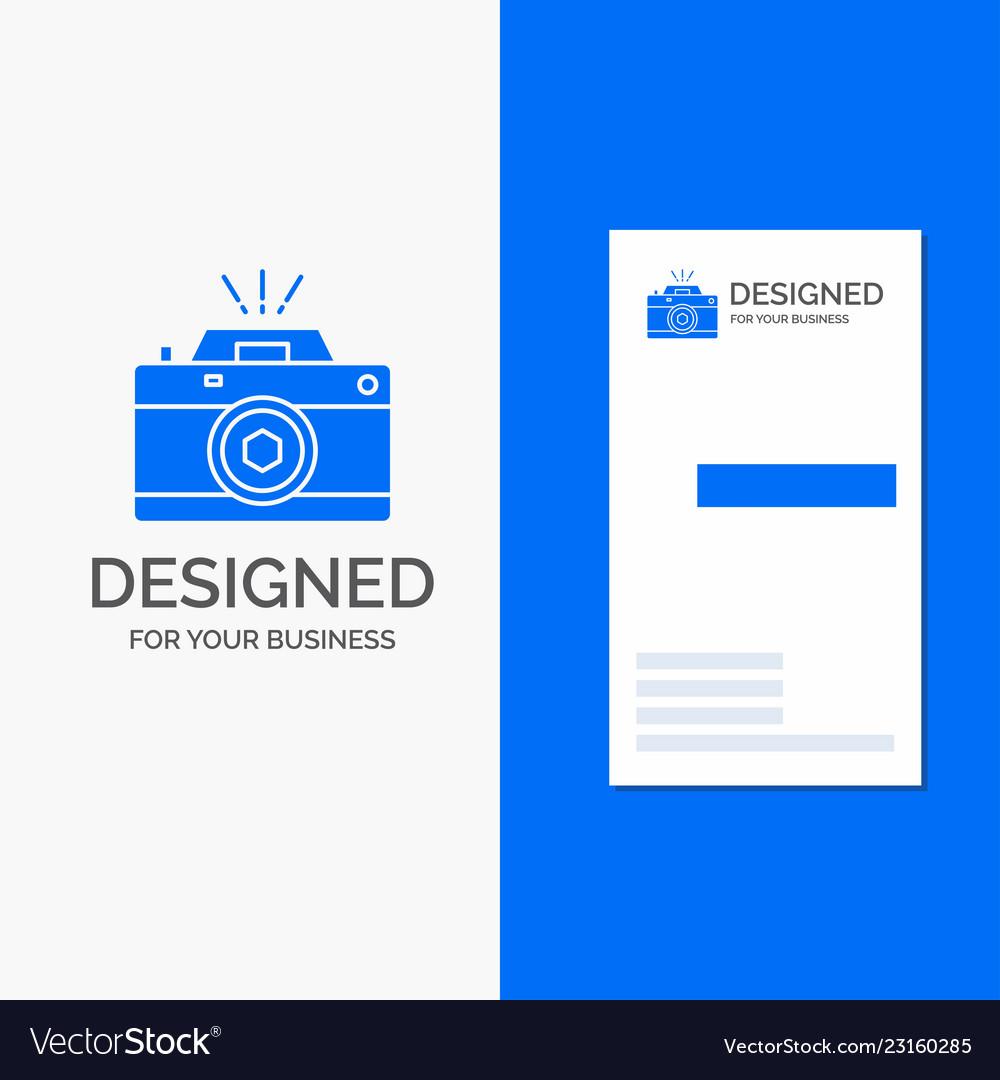 Business logo for camera photography capture