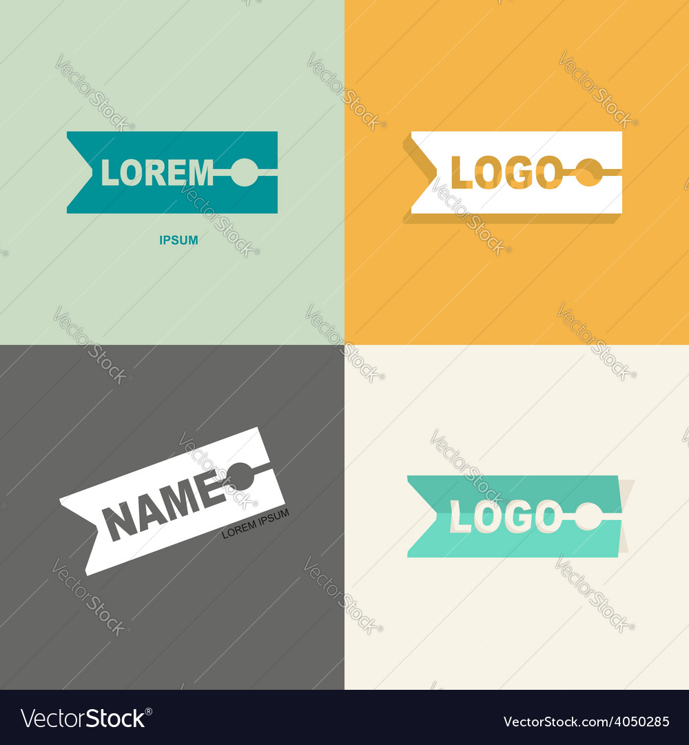 Clothespin clothes logo design pattern for sewing
