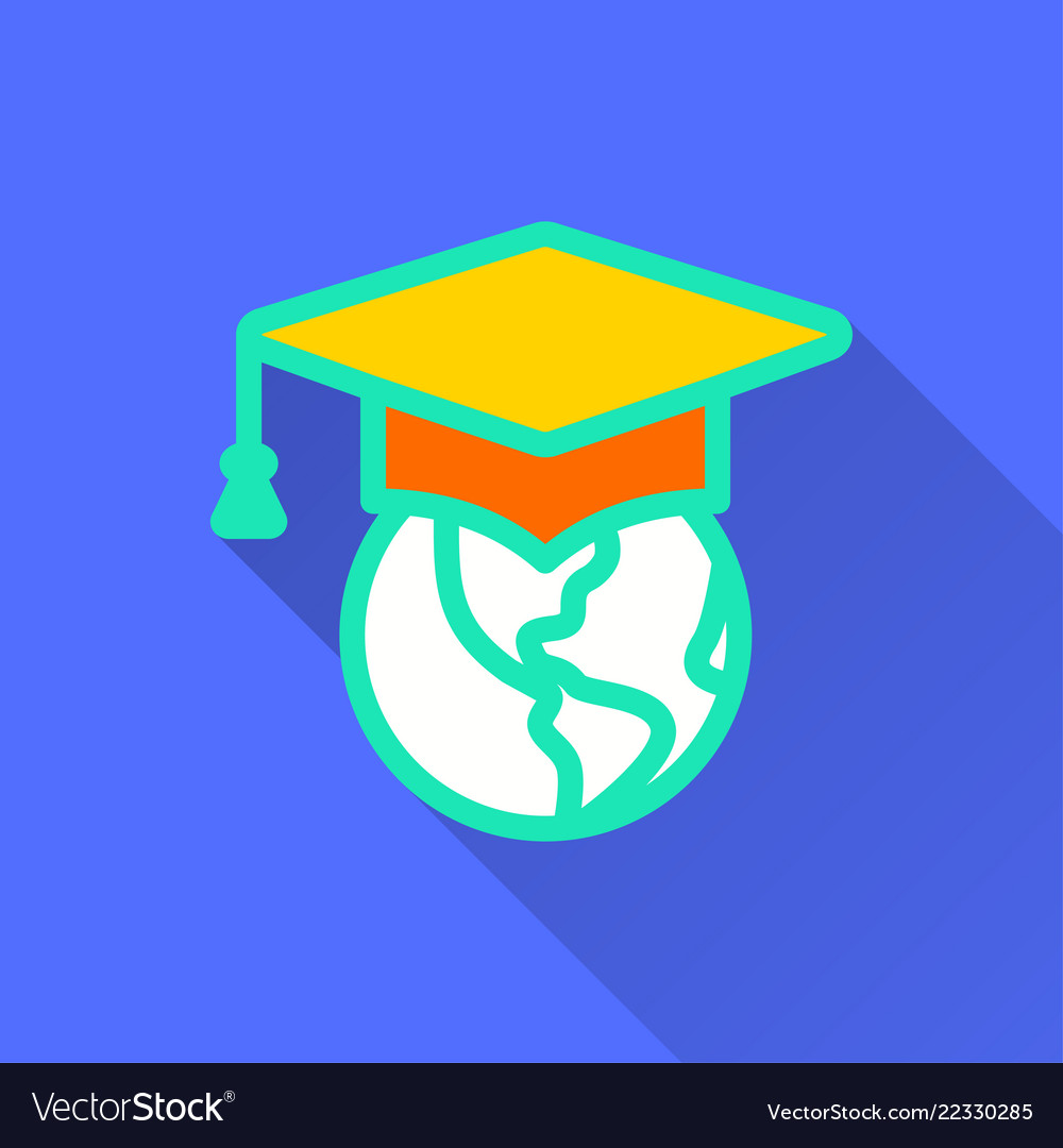E-learning distance education - icon for