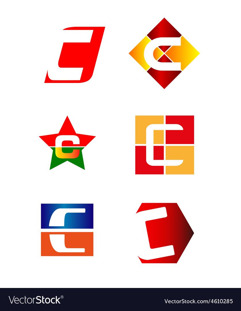 Letter c logo design sample royalty free vector image letter c logo design sample vector image spiritdancerdesigns Gallery
