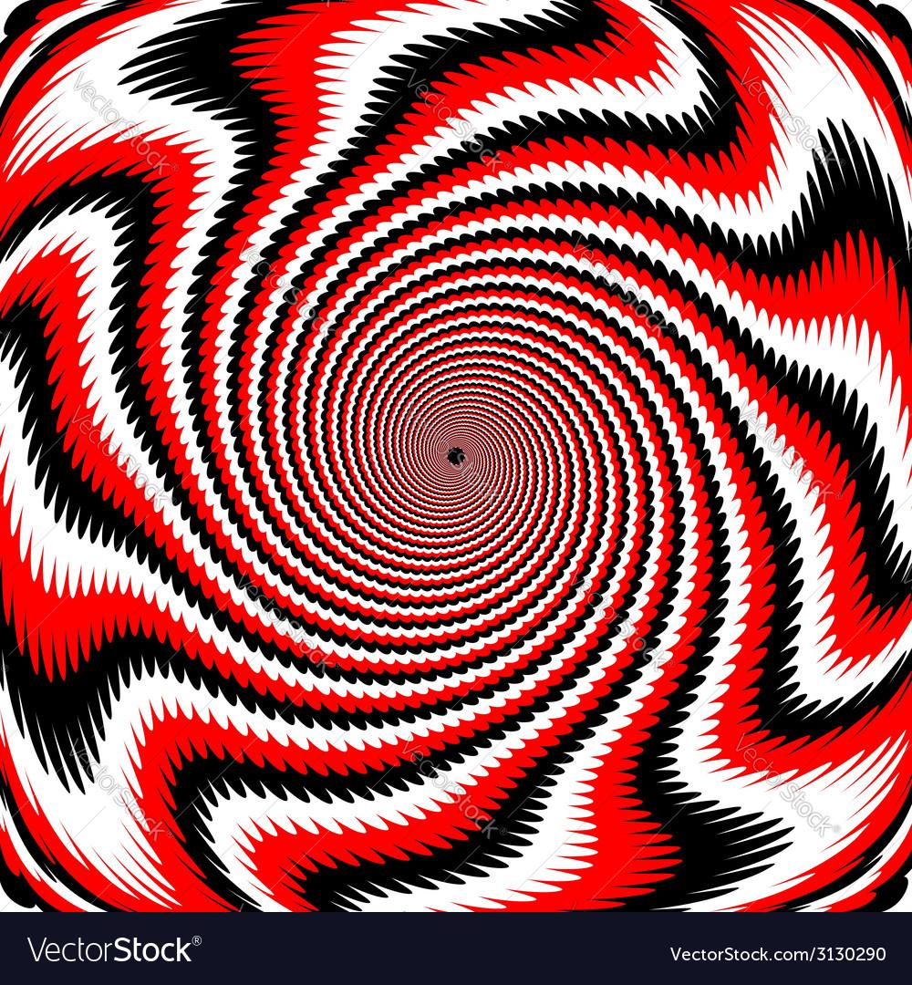 Design colorful swirl rotation background