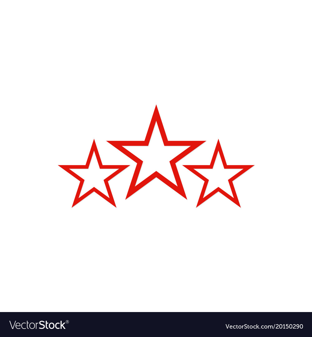 Three Star Logo