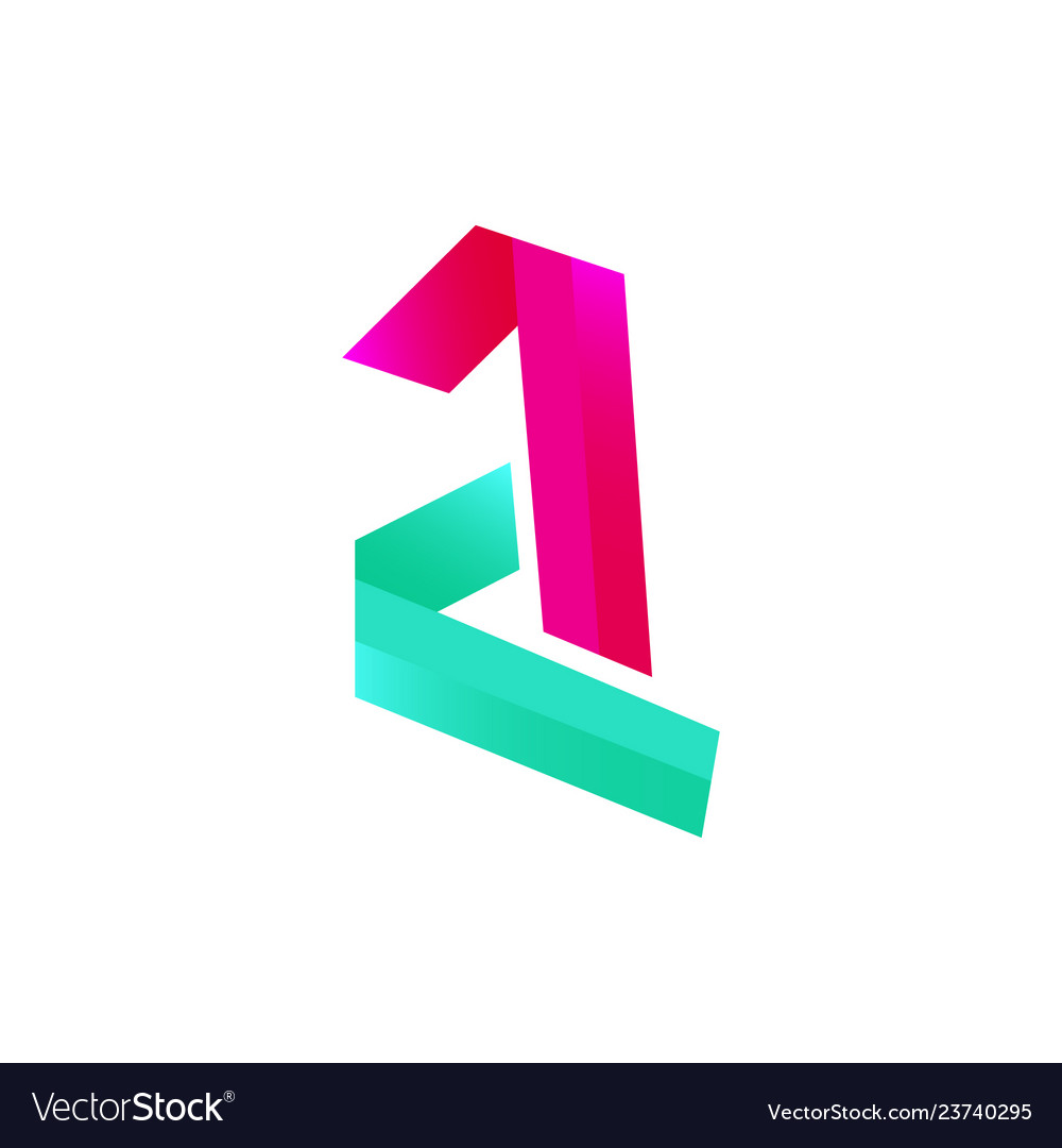 Modern initial letter a