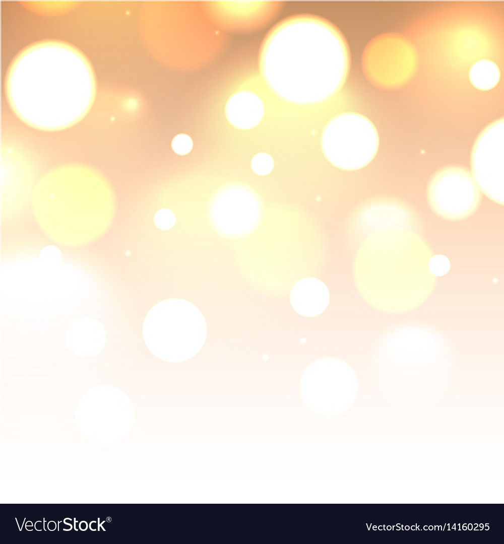 Shiny glitter bokeh lights background defocused