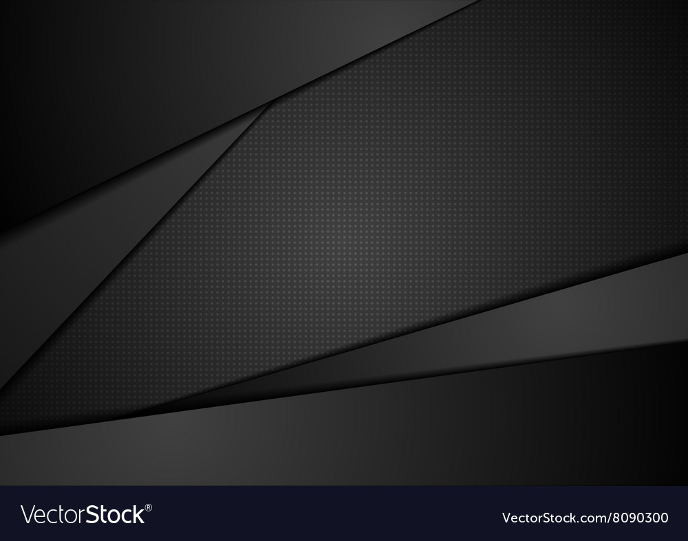 Black abstract corporate background