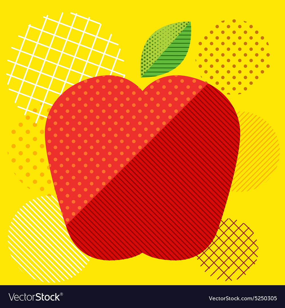 Apple Pop art Screen