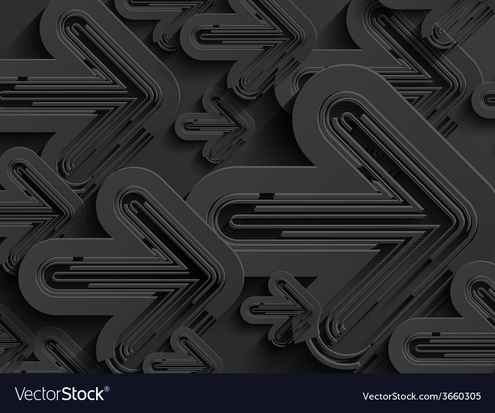 Black business abstract arrow background