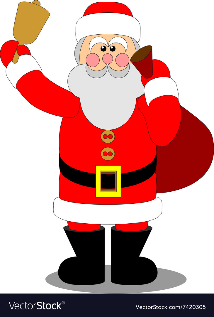 photograph about Santa Claus Printable Pictures referred to as Santa Claus colour 04