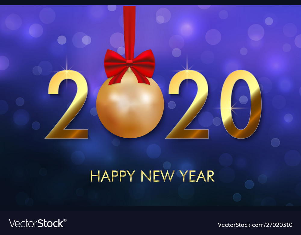 happy new year 2020 background royalty free vector image vectorstock