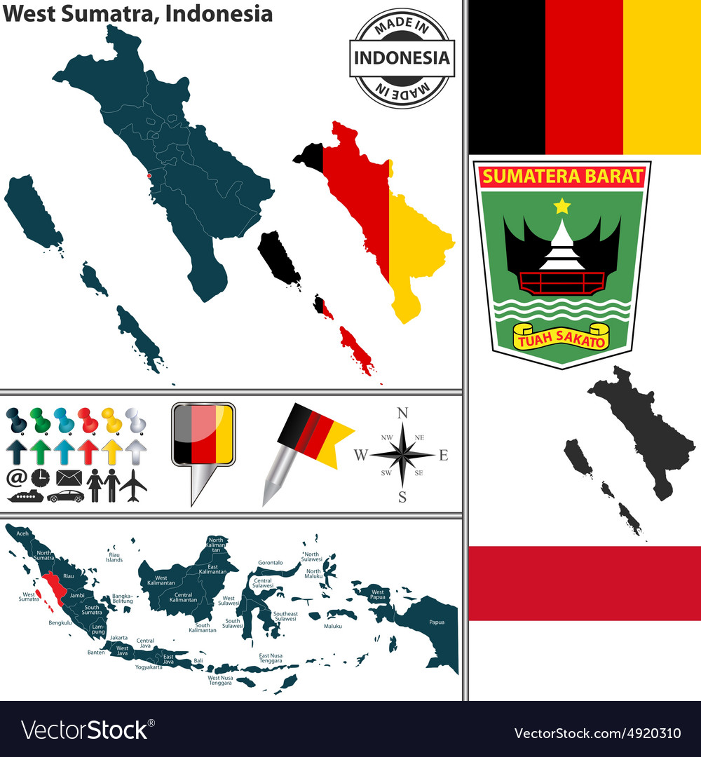 Map of West Sumatra
