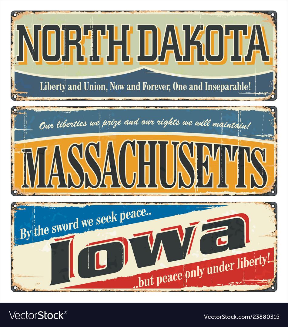 Us title north dakota massachusetts iowa