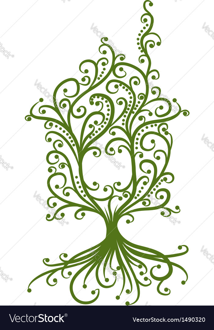 Green house ecology concept for your design vector image