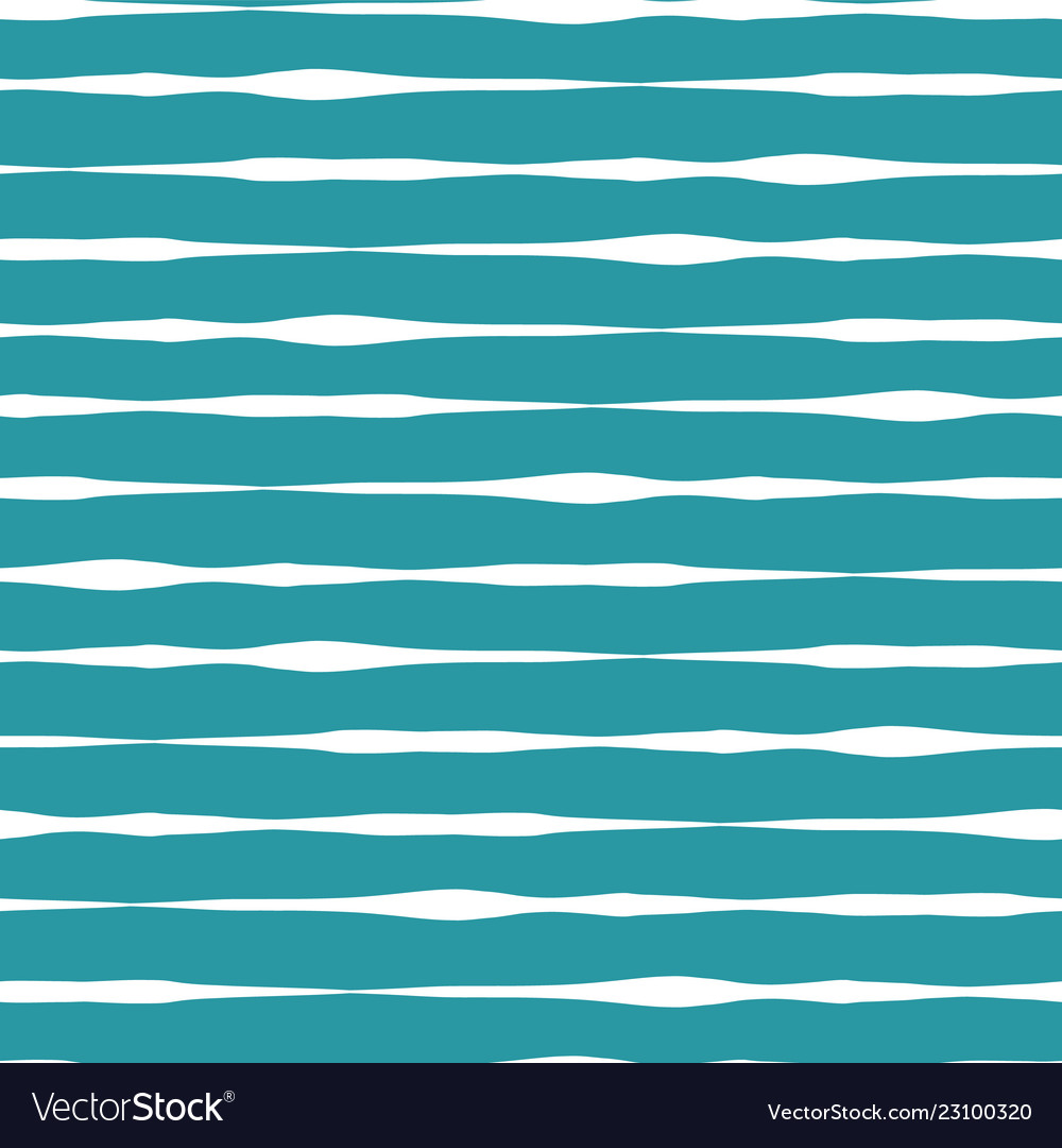 Horizontal doodle lines seamless pattern
