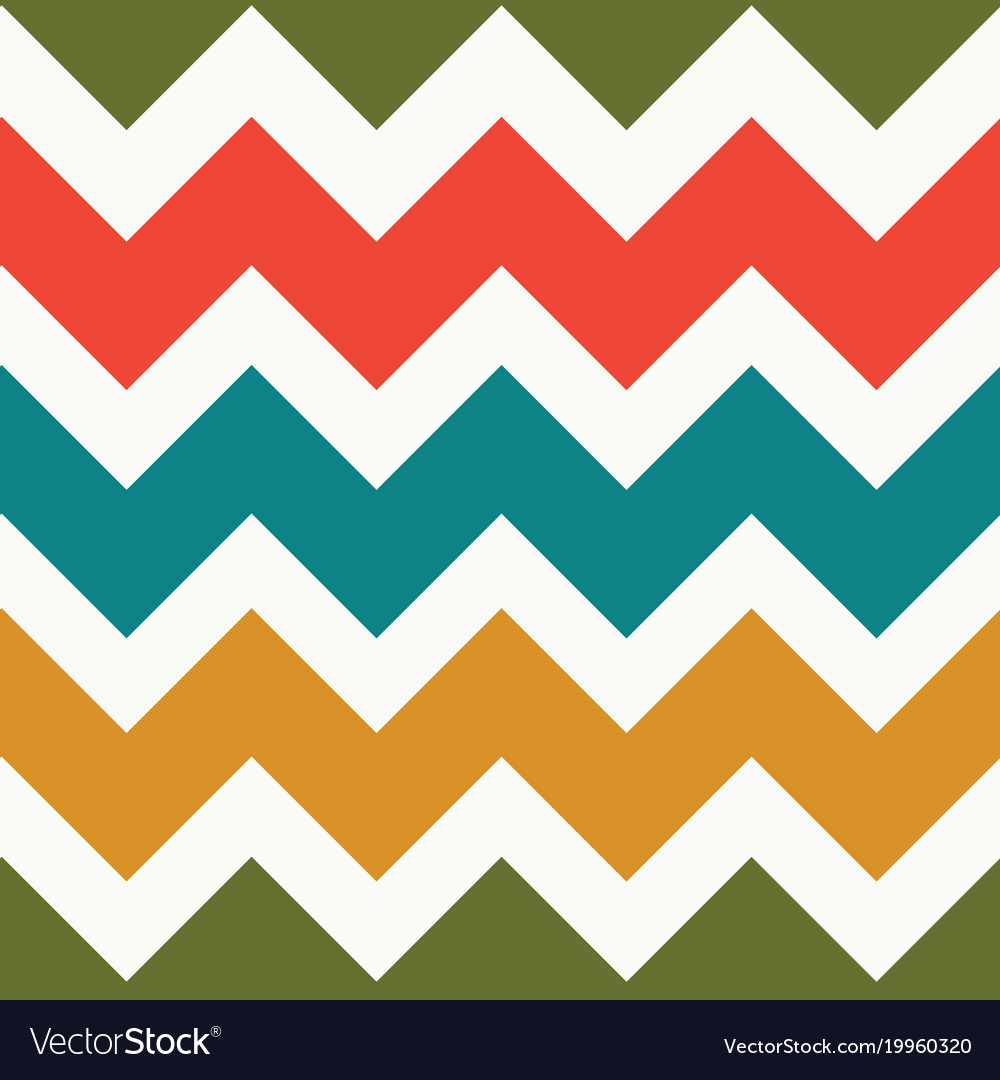seamless chevron pattern royalty free vector image rh vectorstock com Single Chevron Vector chevron pattern vector free
