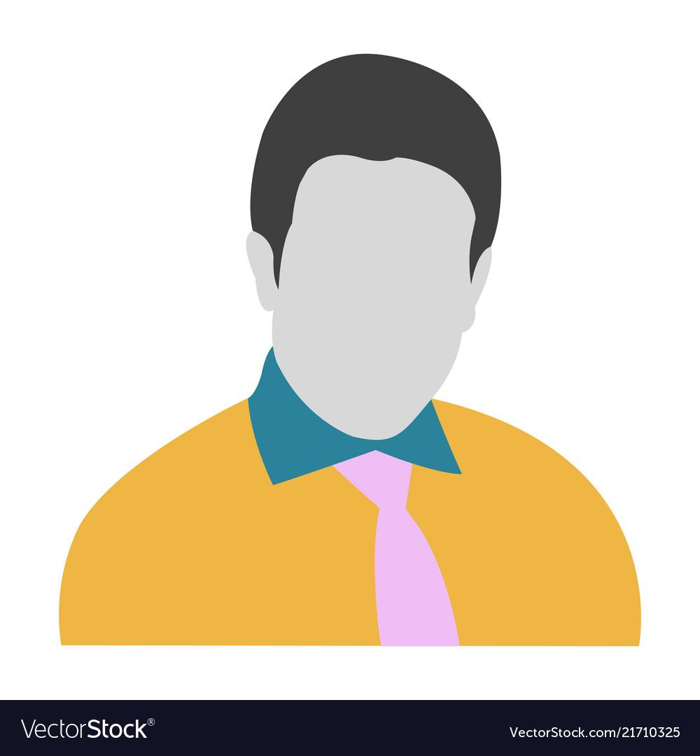 Avatar icon man symbol avatar icon