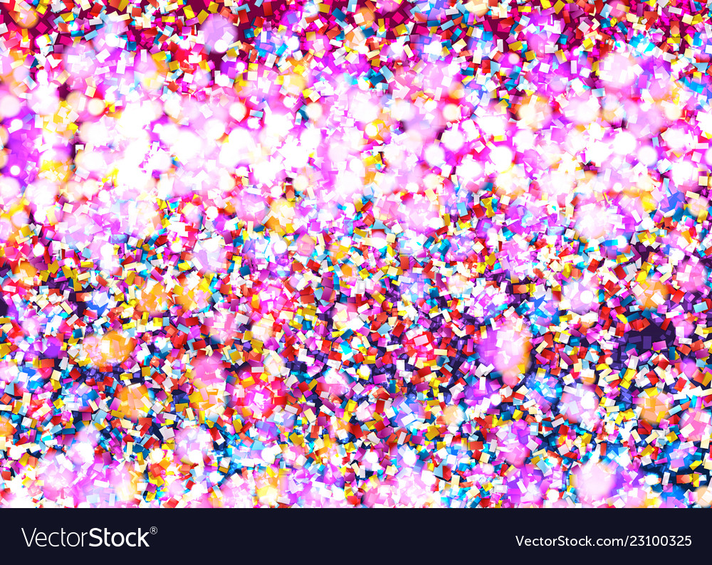 Celebration confetti background