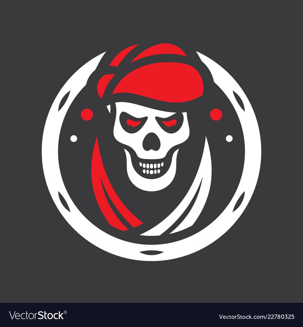 Human evil skull sign