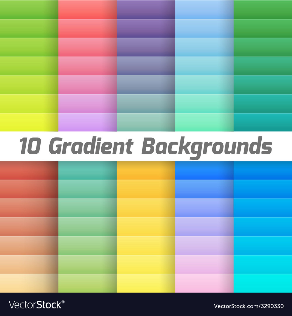 Colorful line gradient background pack