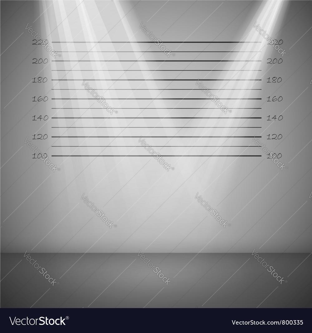 Criminal lineup background