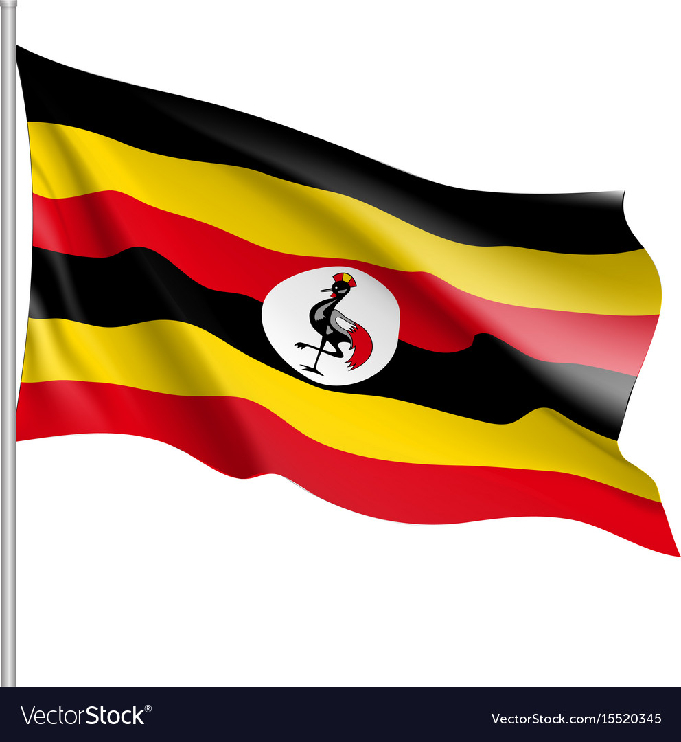 Flag of uganda african state
