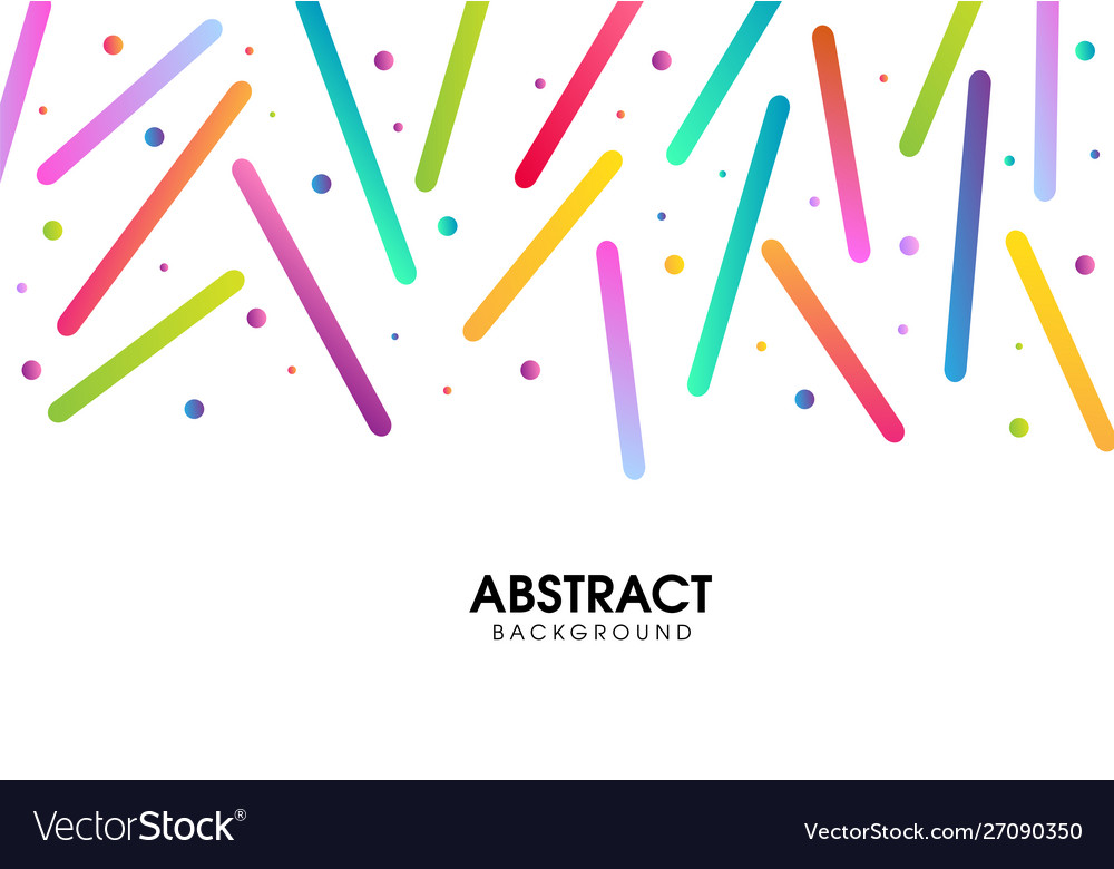 Abstract colorful pattern design
