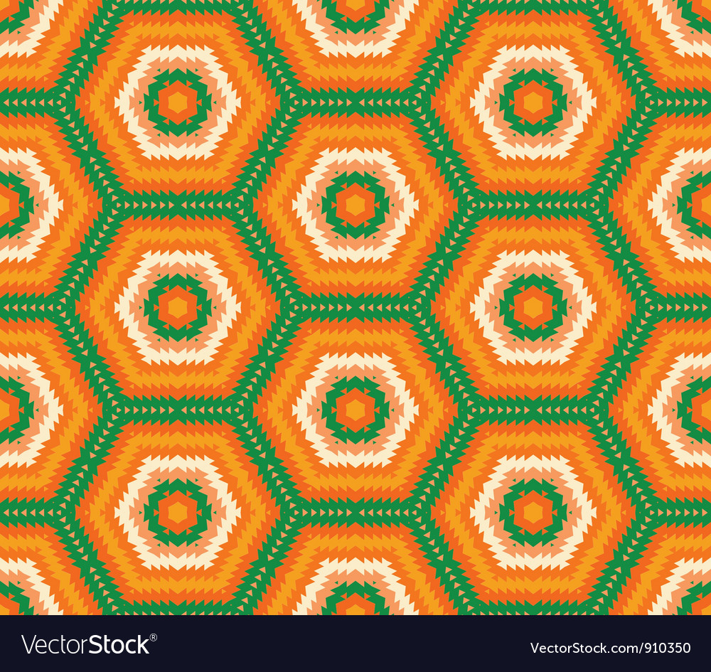Abstract fabric seamless background vector image