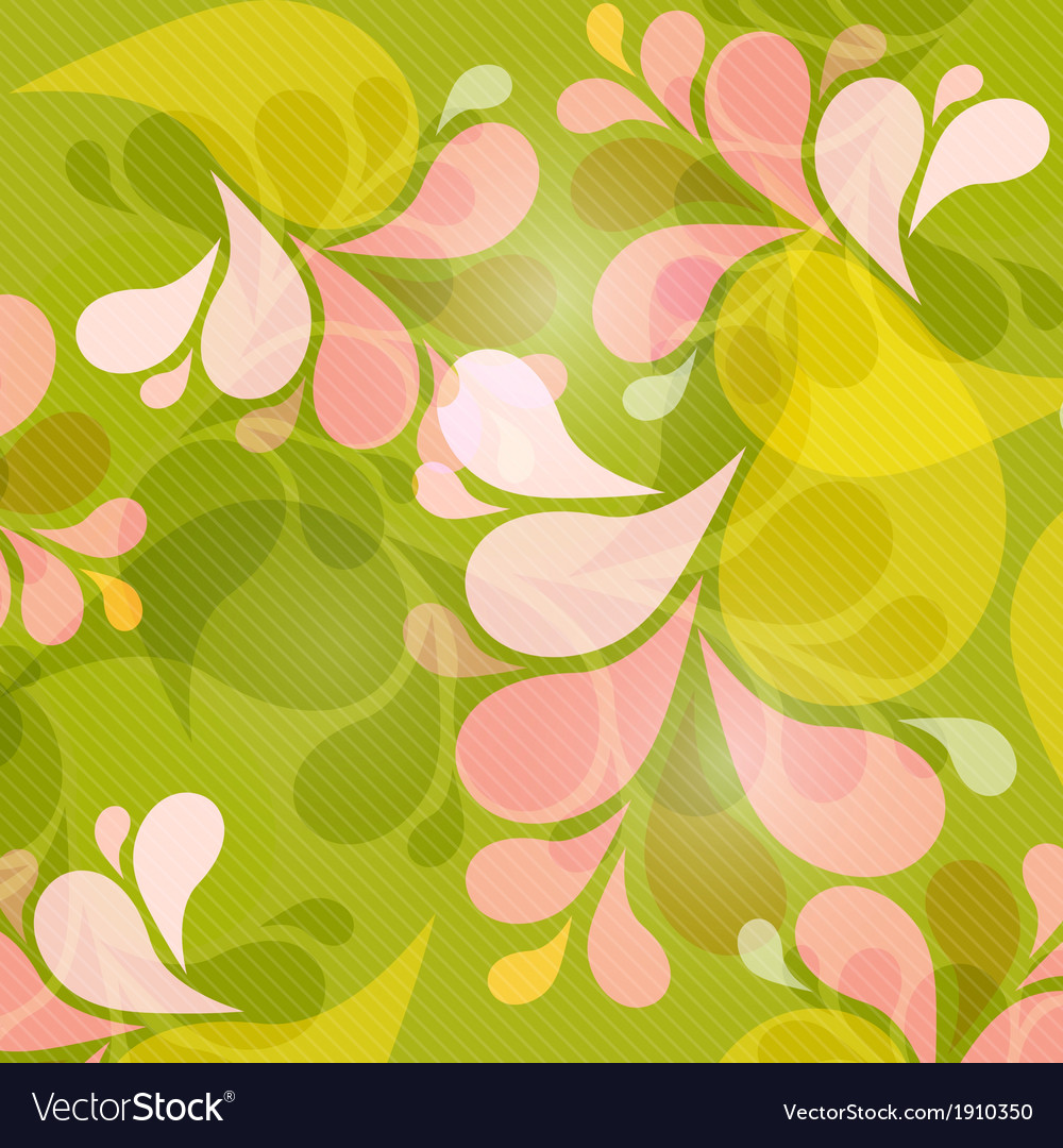 Green and Pink Abstract Background