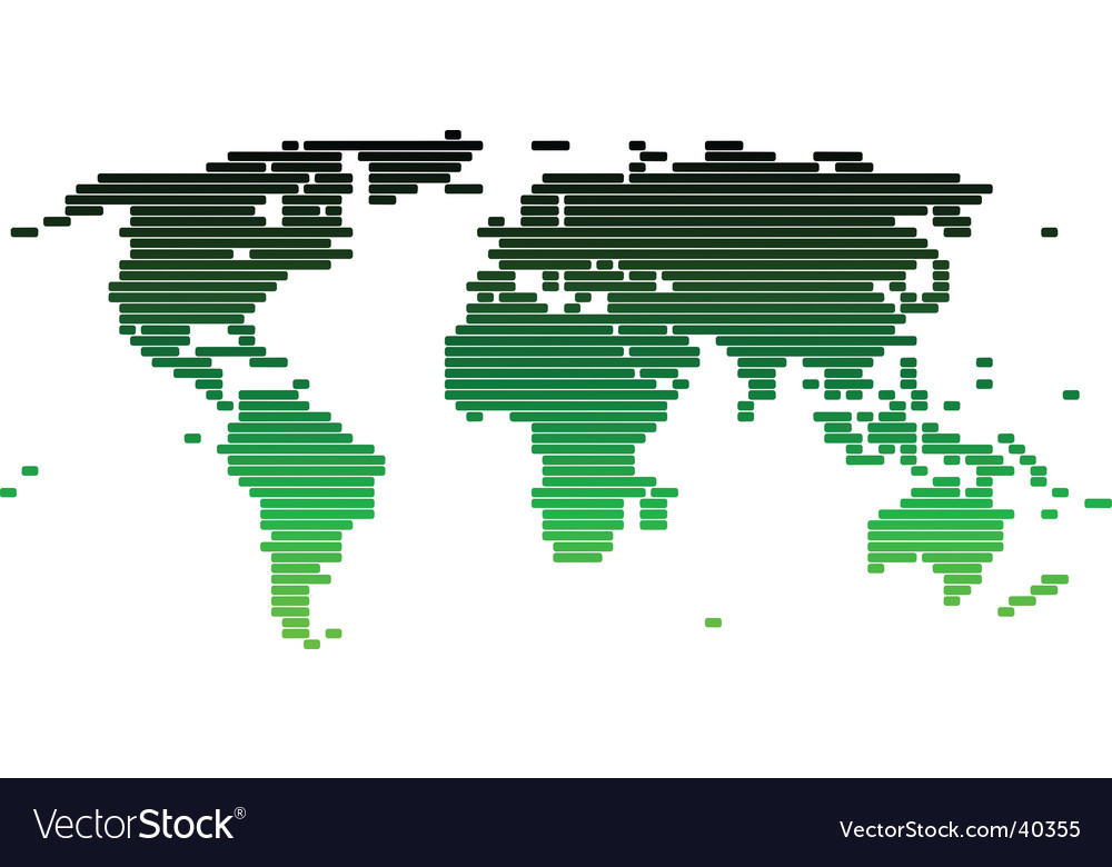 world map vector graphic. World Map Vector