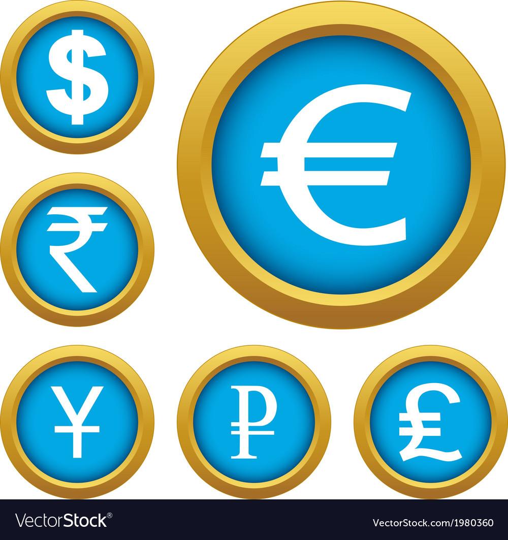 Money set buttons