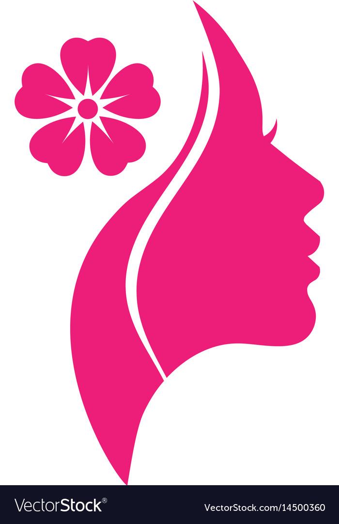 Woman Salons Spa And Shop Logo Royalty Free Vector Image