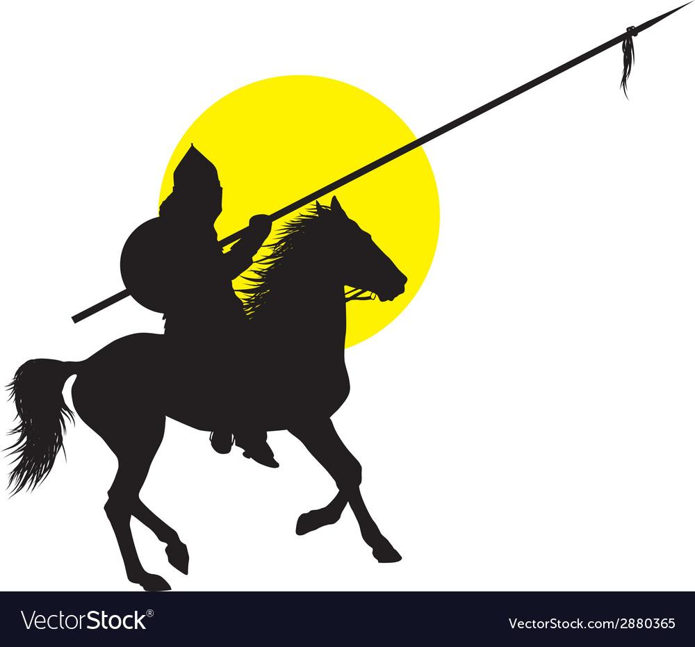 Oriental horseman