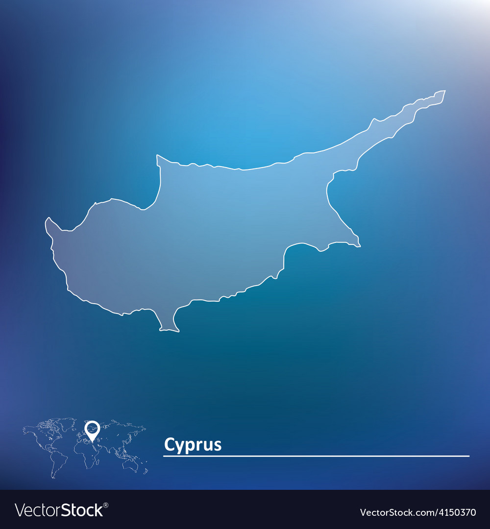 Cyprus u0026 Outline Vector Images 95