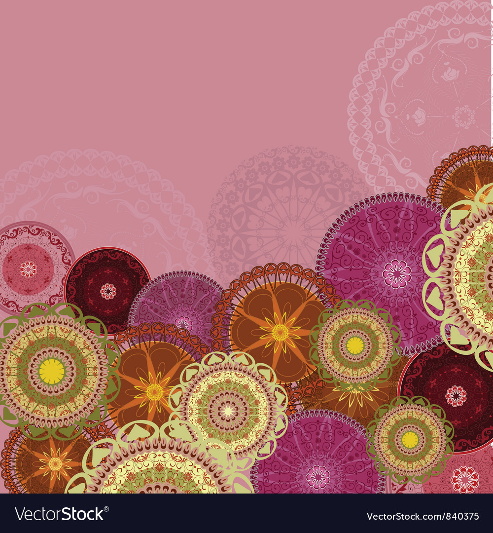 Arabesques Patterns Background
