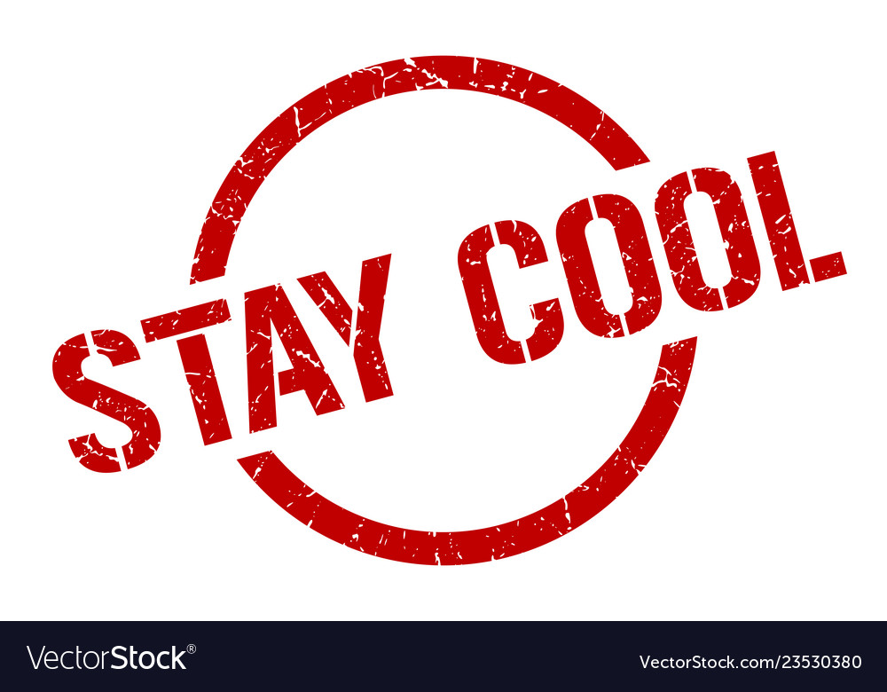 Stay Cool Stamp Vector Image