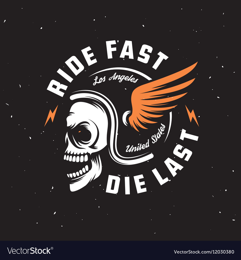 Vintage motorcycle t-shirt graphics