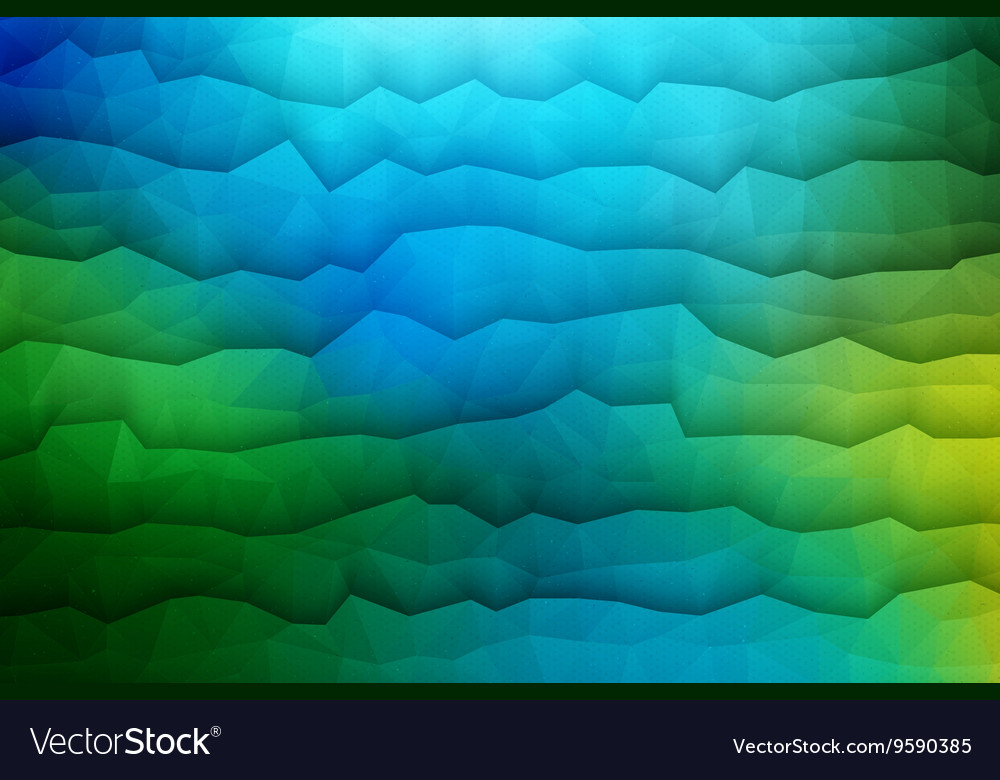 Abstract 3D Geometrical Background