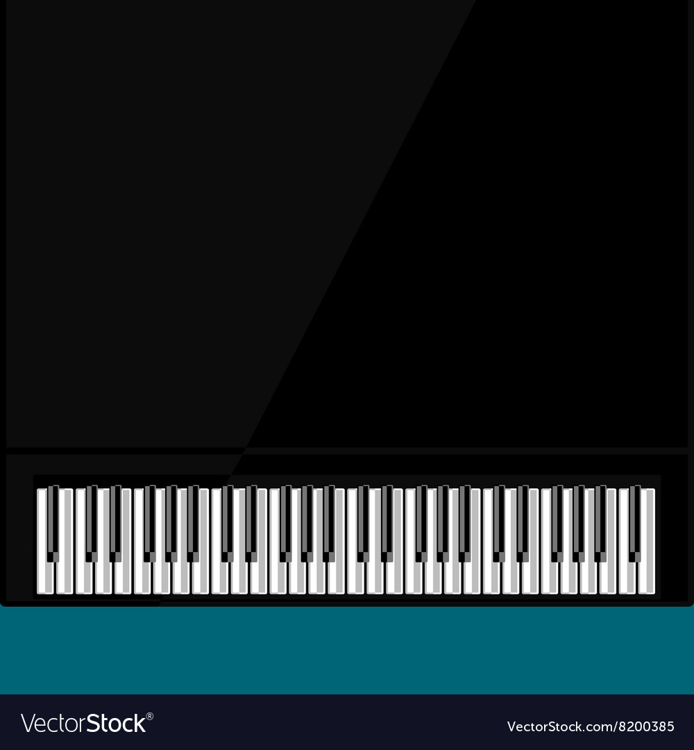 Abstract background with grand piano