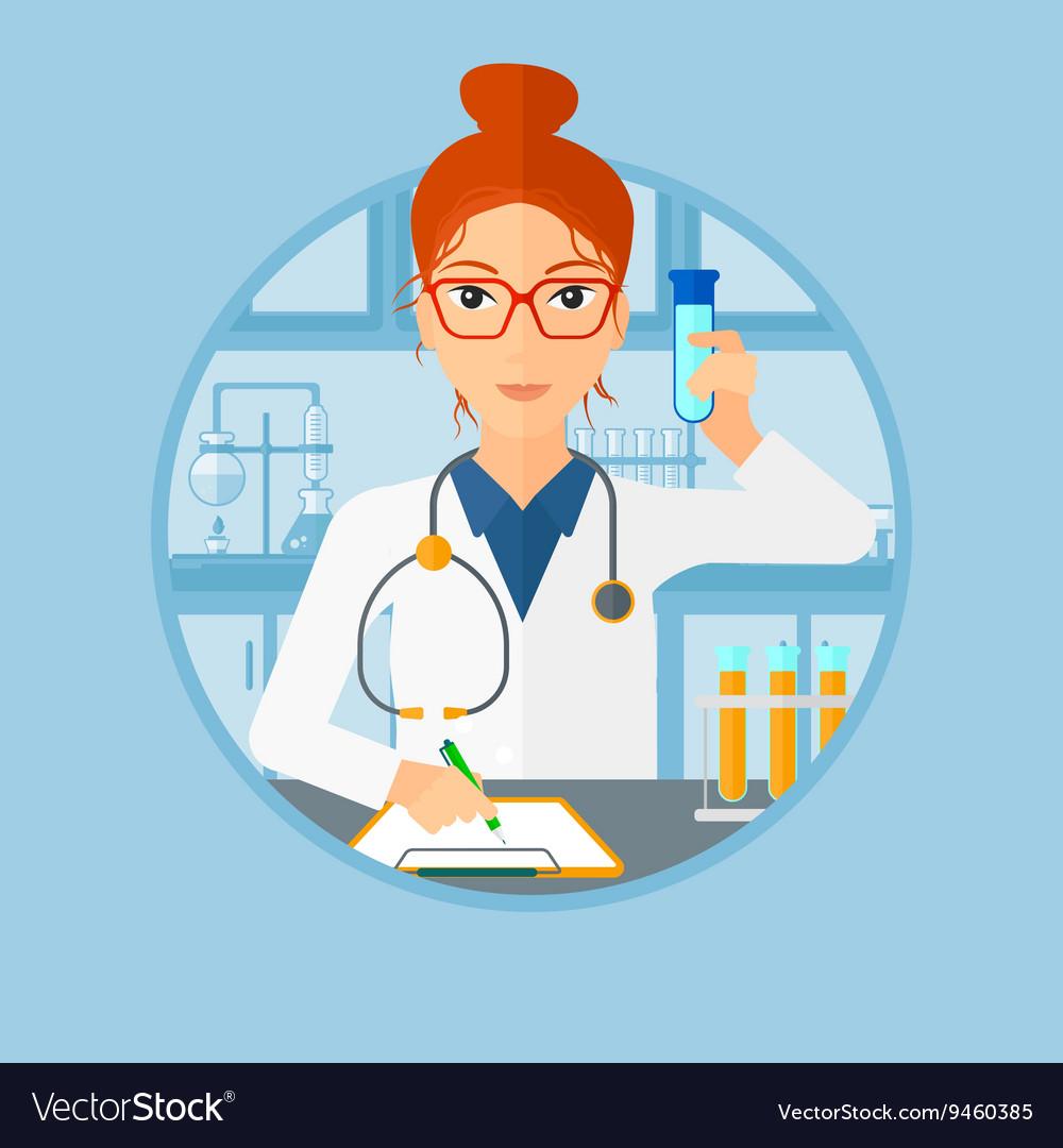 Профессия лаборант в картинках