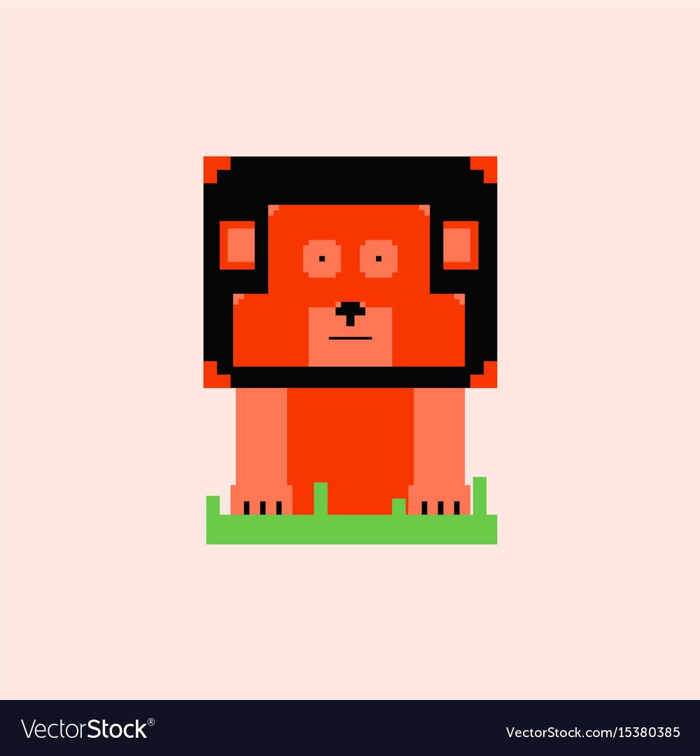 Pixel Art Dog